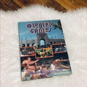 🦋2/$10 3/$15 4/$18 5/$20 Vintage Olympic Hardback